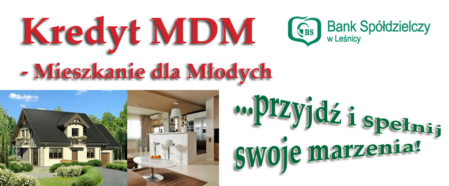 Kredyt MDM - jak Mieszkanie dla Młodych